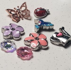 Origami Owl Spring Themed Charms